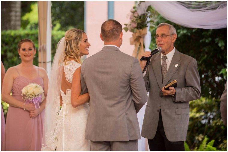 Boca Raton Wedding ceremony