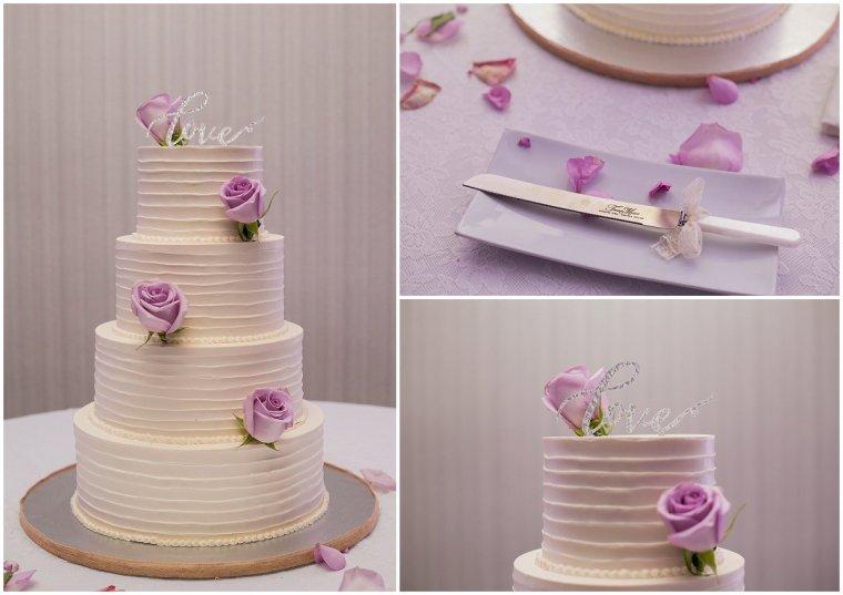 Marriott Boca Center wedding cake