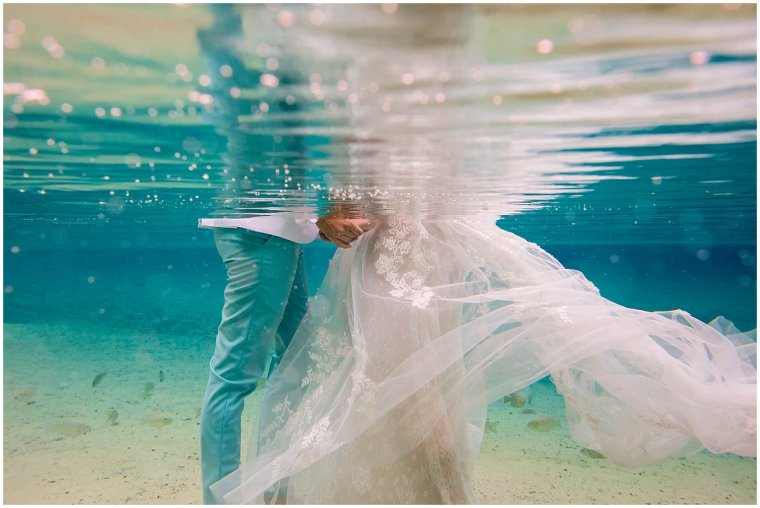 rock springs underwater photographer